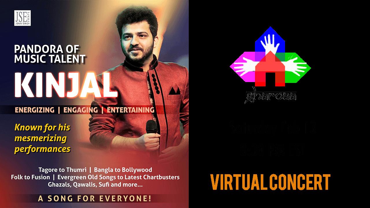 Kinjal Gharoaa Virtual Concert 2021